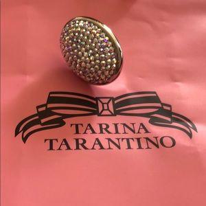 Tarina Tarantino Large Pave Ring